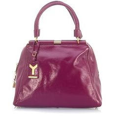 Yves Saint Laurent Medium Patent Leather Handbag #BBOSBrandBurst