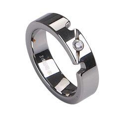 homosexual tungsten carbide ring