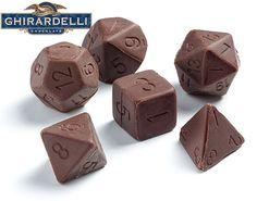 Dados de Chocolate!!!