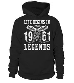 Life Begins In 1961 Birth Legends  #image #grandma #nana #gigi #mother #photo #shirt #gift #idea
