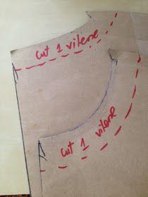 Sew Tessuti Blog - Sewing Tips & Tutorials - New Fabrics, Pattern Reviews: Sewing Tip: Tear-Away Vilene Shields