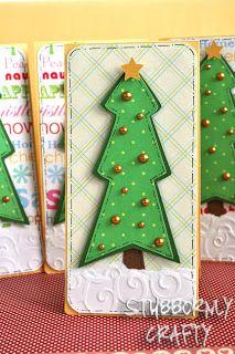 Cricut Doodlecharms Christmas Card