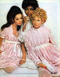 (April 1968) Baby Doll Ruffles