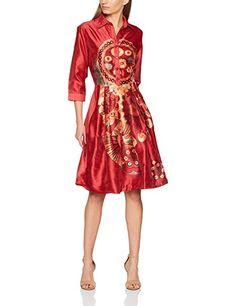 DERHY Declic, Robe rouge Femme. Manche 3/4. EUR 172,80