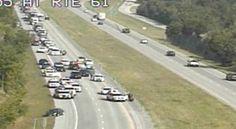 Posible tiroteo cierra la I-55 en la Ruta 61 después de una persecución