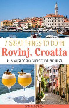 Rovinj, Croatia Trav