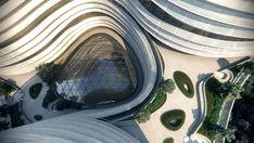 CJ Research Center's Kinetic Folding Facade / Yazdani Studio - eVolo | Architecture Magazine