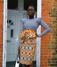 Fierce! Retro Revamped: African prints with Stripes