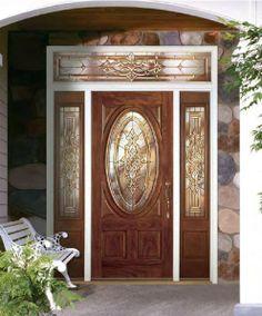 front door with glass | Door Design - Home Main Door Ideas For Your Home | Home and Design ...