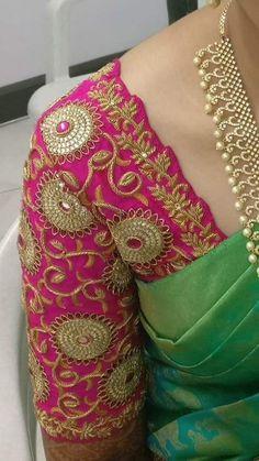 Black Blouse Designs, Cutwork Blouse Designs, Best Blouse Designs, Pattu Saree Blouse Designs, Hand Work Blouse Design, Simple Blouse Designs, Dress Neck Designs, Bridal Blouse Designs, Sleeve Designs