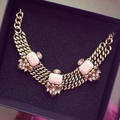 Rethink Pink Necklace - JewelMint