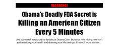 Obama's Deadly FDA Secret