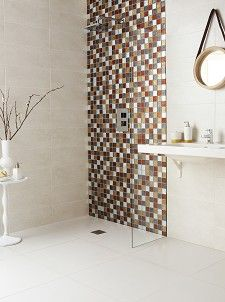 Hong Kong Autumn Mix Square Mosaic Tile