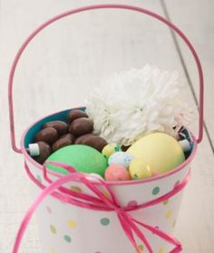 This year, skip the same old jelly beans and chocolate bunnies to create the ultimate Easter surprise. These fun and unique ideas, straight from the pros, will help you think outside the basket.