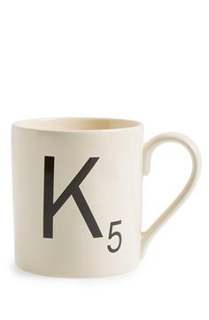 Free shipping and returns on WILD AND WOLF 'Scrabble®' Mug at Nordstrom.com. A minimalist letter-tile mug makes a perfect custom gift for any Scrabble enthusiasts who's just as hooked on coffee as they are on literary board games.