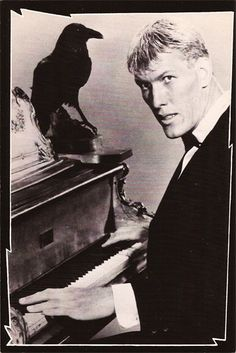 Vintage TV Classic Addams Family Postcard Set of Seven (7) - TnTCollectibles - 1 Ted Cassidy seen here in the original Lurch make-up (1964)