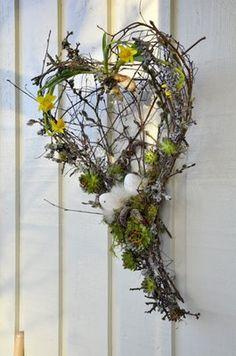 Taklyftet : Blomsterkurs - påsk arrangemang