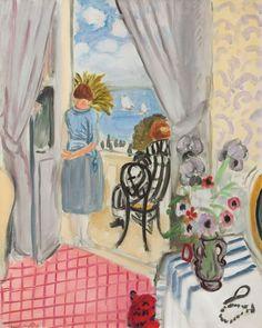 Henri Matisse, Les Regates de Nice - 1921 on ArtStack #henri-matisse #art