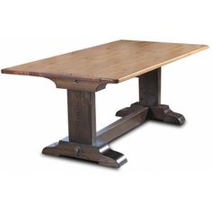 <strong>Vintage Flooring and Furniture</strong> Trestle Dining Table