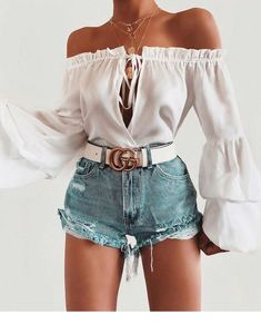 outfits verano Source by Outfits veranoYou can find Verano and more on our website.outfits verano Source b. Cute Summer Outfits, Cute Casual Outfits, Short Outfits, Spring Outfits, Cute Shorts Outfits, Denim Shorts Outfit Summer, Women's Shorts, Denim Outfit, Girly Outfits