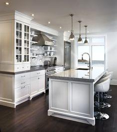 Armoires de cuisine - Québec - Salles de bain, meubles intégrés   André Rousseau Construction