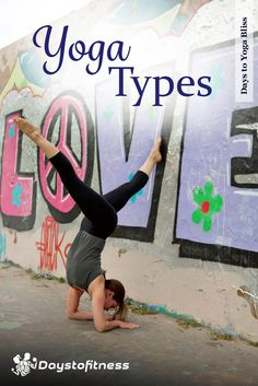 Yoga Types - Different types for different purposes, learn the differences via @https://www.pinterest.com/daystofitness/