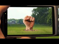 Mobile Augmented Reality concept video from Kudan