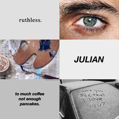 Julian Blackthorn • The Dark Artifices