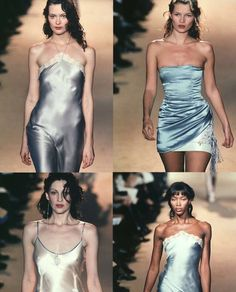 Chloé S/S 1998 Chloe Girls ♡ by Stella McCartney  KATE MOSS  Naomi Campbell Shlom Harlow