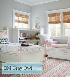 Interior paint color for the new house | Stylish Patina, Gray owl, Benjamin Moore, see more at www.stylishpatina.com
