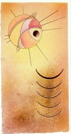 Vasily Kandinsky, 'Wiederklänge (Echoes)' (1928)