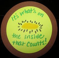 """Using kiwis to teach about tolerance... """"It's What's on the Inside That Counts!"""""""