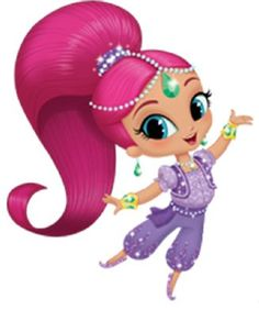 Shimmer And Shine Clipart. Use these Shimmer clipart. 4th Birthday Parties, Girl Birthday, Shimmer And Shine Characters, Shimmer And Shine Cake, My Little Pony Drawing, Fiesta Party, Disney Junior, Cricut Creations, Vinyl Crafts