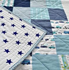 baby boy quilt patterns photo 6 of 7 baby boy quilt great inspiration for a super easy quilt good baby quilts patterns easy baby boy quilt patterns free Quilt Baby, Baby Boy Quilt Patterns, Patchwork Quilt Patterns, Beginner Quilt Patterns, Quilting For Beginners, Rag Quilt, Quilt Patterns Free, Quilt Blocks, Baby Quilts For Boys