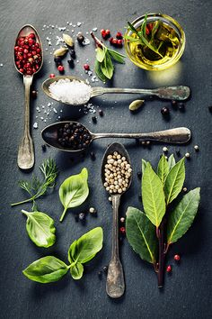 Photo Herbs and spices selection by Natalia Klenova on 500px