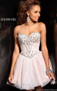 Sherri Hill 21156 by Sherri Hill || love dresses with sequins on the top