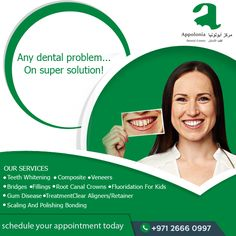 We treat each and every dental problem with utmost effectiveness! Appoloniadc is your one stop for all dental solutions! Visit- www.appoloniadc.com