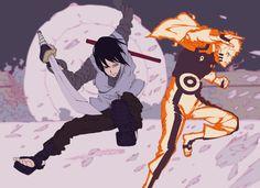 Naruto and Sasuke- Boruto Susanoo Kakashi, Wallpaper Naruto Shippuden, Naruto Uzumaki Shippuden, Naruto Wallpaper, Sasunaru, Narusasu, Sasuhina, Anime Naruto, Naruto Fan Art
