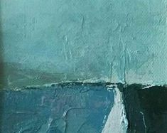 AntArtDesign on Etsy Abstract Landscape, Landscapes, Waves, Unique Jewelry, Painting, Outdoor, Etsy, Vintage, Art