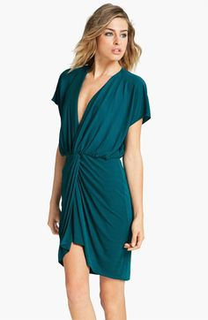 Haute Hippie Twist Front Dress available at #Nordstrom. Easy least sexy!