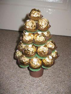 Mini Ferrero Christmas tree