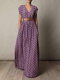 STUNNING LONG DRESS WITH POCKETS
