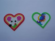 Hama Heart Designs