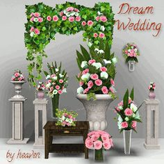 Mod The Sims - Dream Wedding - Flowers