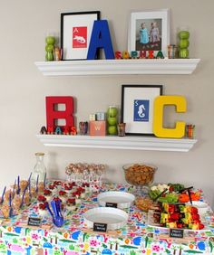 ABC Birthday Party