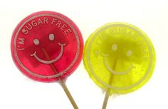 We can make our Logo Lollipops sugar free