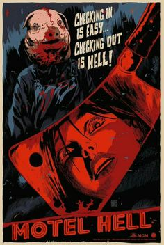Motel Hell Horror Movie Poster