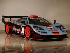 Gulf McLaren F1 GTR Longtail Racing Coupe.