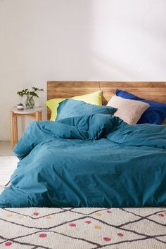 Slide View: 3: Washed Cotton Comforter