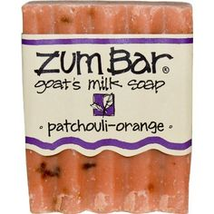 Indigo Wild Zum Bar Goats Milk Soap Patchouli  Orange 3 oz 3 pack -- Want to know more, click on the image.(This is an Amazon affiliate link and I receive a commission for the sales)